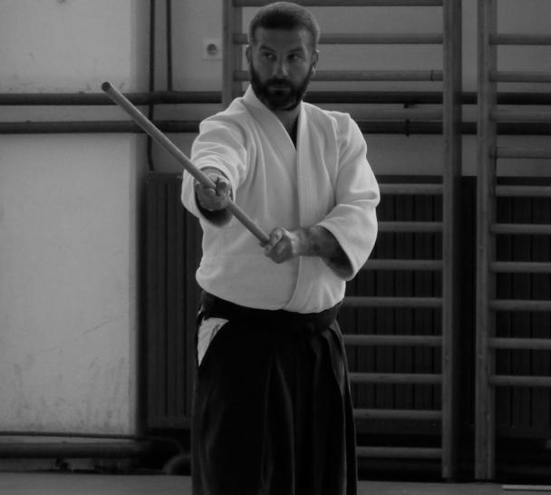 Laurent Barthaux, 4. Dan Aikido, 3. Dan Iaido
